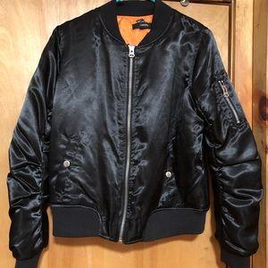 Women's satin jacket